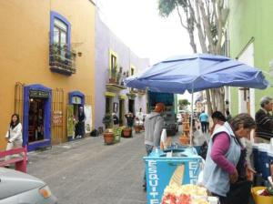 downtown puebla